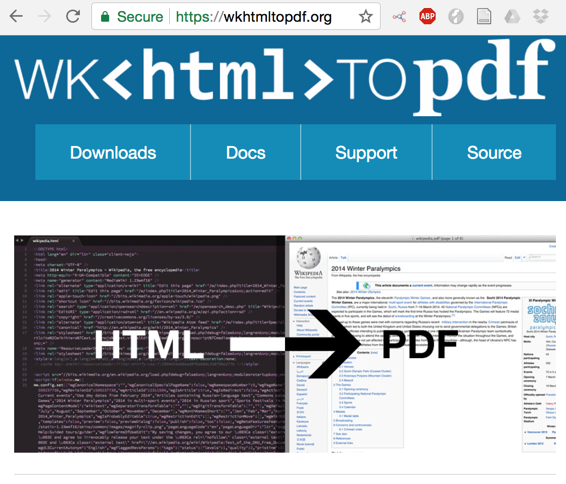 Converting HTML files to PDF | Visually Enforced