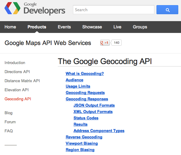 Using Geocoding Google API | Visually Enforced