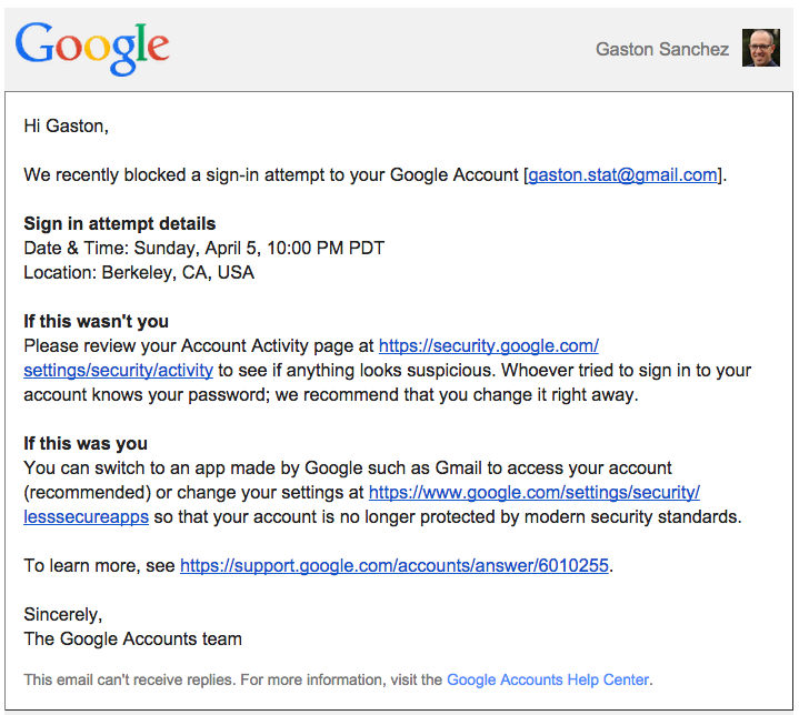 Allow RGoogleDocs to access your Google Account | Visually